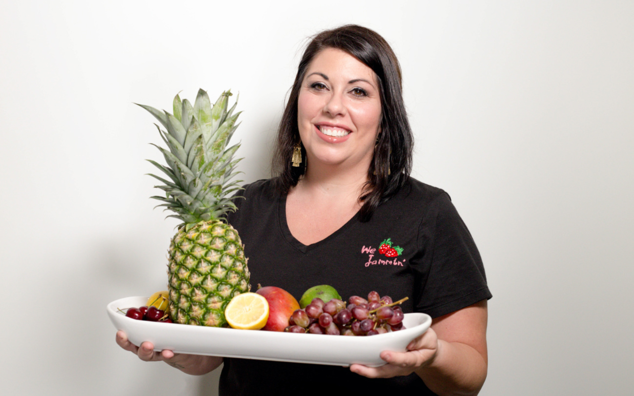 Headshot of Teresa Bexter, founder of Wejammin', for the Catapult Lakeland Kitchen Member Spotlight